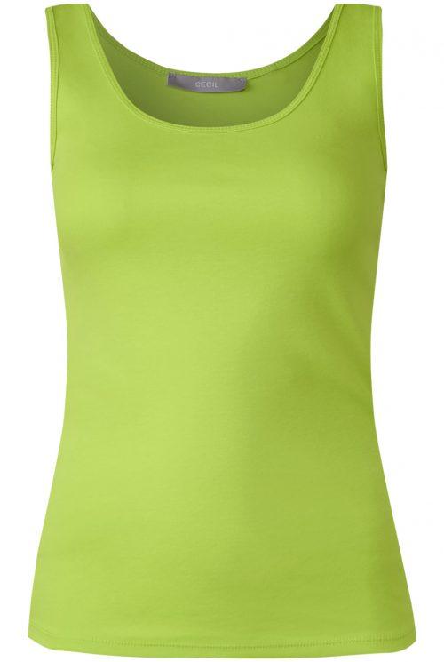 Cecil top 311049 grøn
