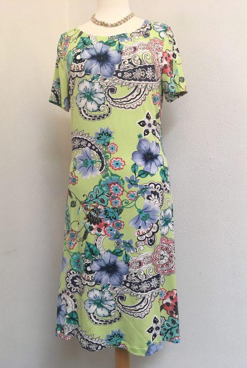 Mongul kjole 03500 lime grøn