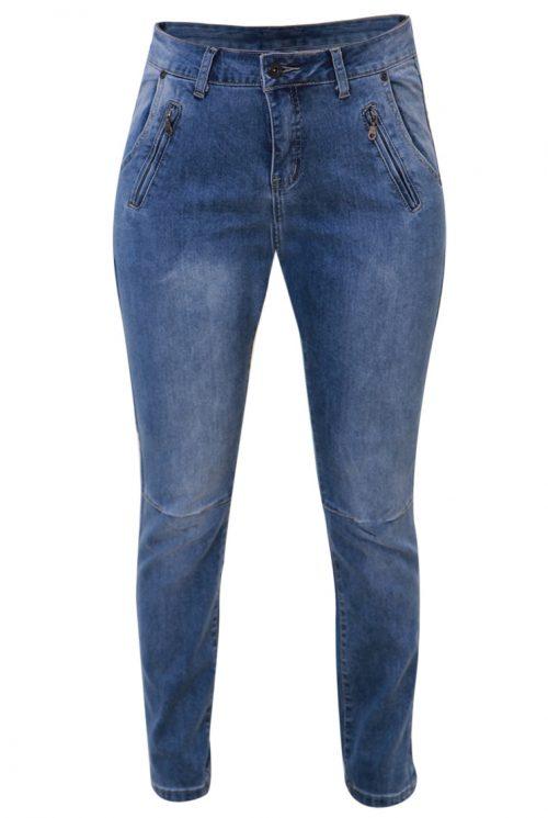 Marc Lauge Jeans Ginny 7/8 brun 70 cm