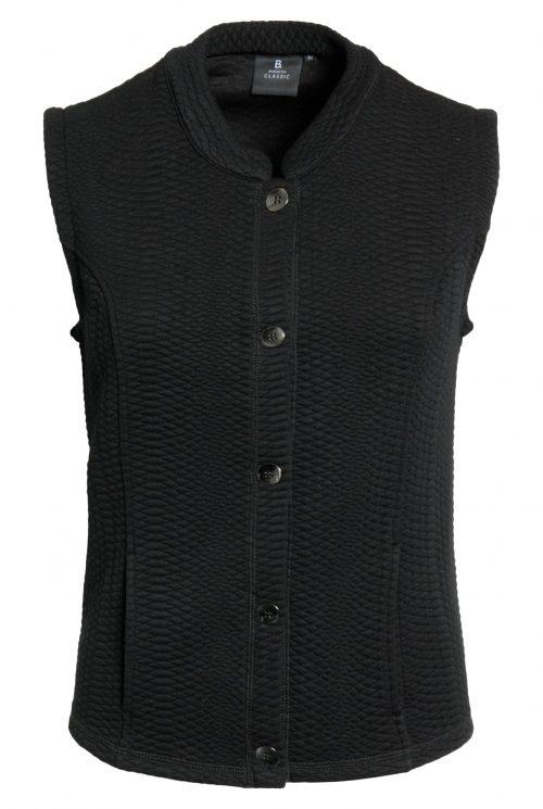 Brandtex vest 204467 sort