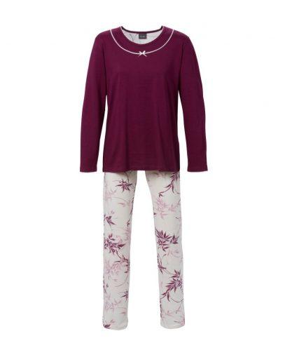 Trofé pyjamas 68222 mørk rød