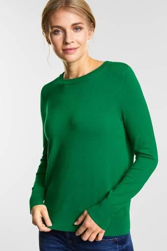 Street-one pullover 300749 grøn