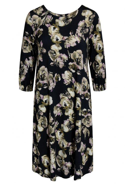 Signature kjole 206530 mørkeblå