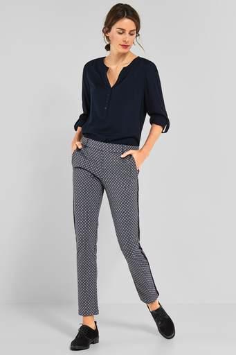 Street one bukser 371868 mørkeblå – Onlinemodetøj