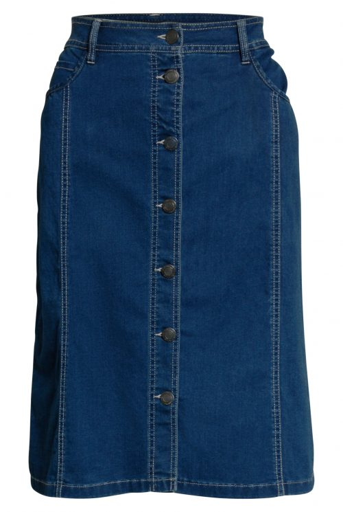 Brandtex nederdel 206000 blå