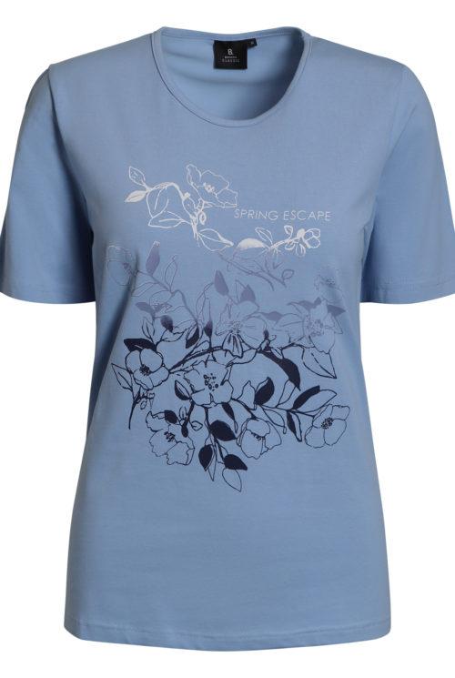 Brandtex 206262 t-shirt blå