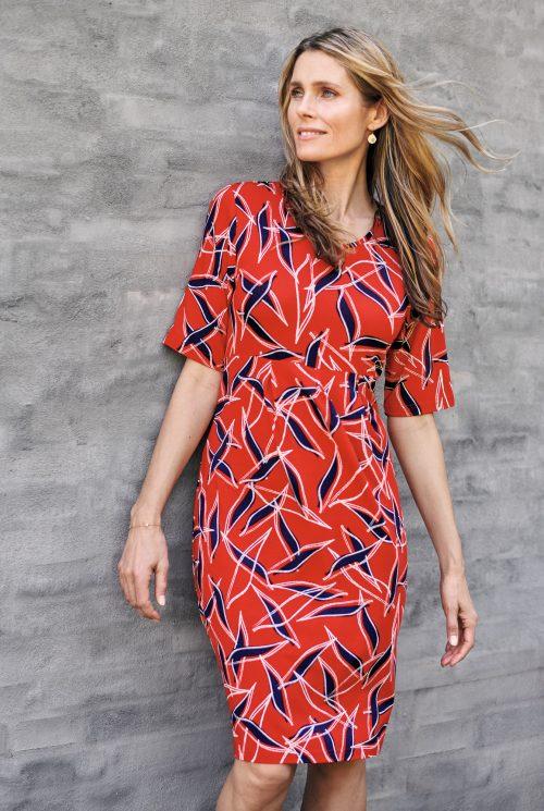 Signature kjole 206449 rød