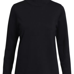 Signature turtle-neck strik sort