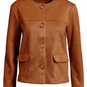 Signature blazer 211186 cognac