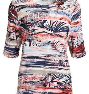 btx t-shirt 211393 coral